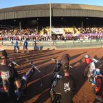 Big crowd here at Wimborne Rd for @poolespeedway against Swindon Robins @Bournemouthecho http://t.co/3b1TJxhDm1
