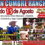 #melipilla Gran Cumbre Ranchera 15 de agosto estadio Sta.Victoria Mallarauco beneficio de Carolina Valladares http://t.co/4WH9L4bcfO