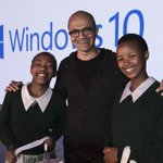 Honored to celebrate with #Windows10 fans in Nairobi and meet the next-generation of innovators! http://t.co/60RQfedwF4