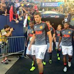 FOTO: Pemain United melakukan warming up di Chicago. #MUtour http://t.co/B8uNdNYcDW