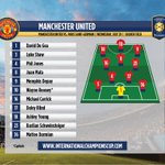 Starting Lineups for @ManUtd vs. @PSG_inside in Chicago! #ICC2015 #mufc #ParisLovesUS http://t.co/uJQ0daR5aL