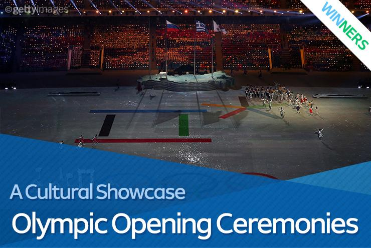 #Olympic Opening ...