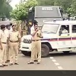 Tight security in sensitive areas ahead of Yakub Memon hanging in Nagpur jail http://t.co/y8al32AuAy http://t.co/TMezTIWSDO