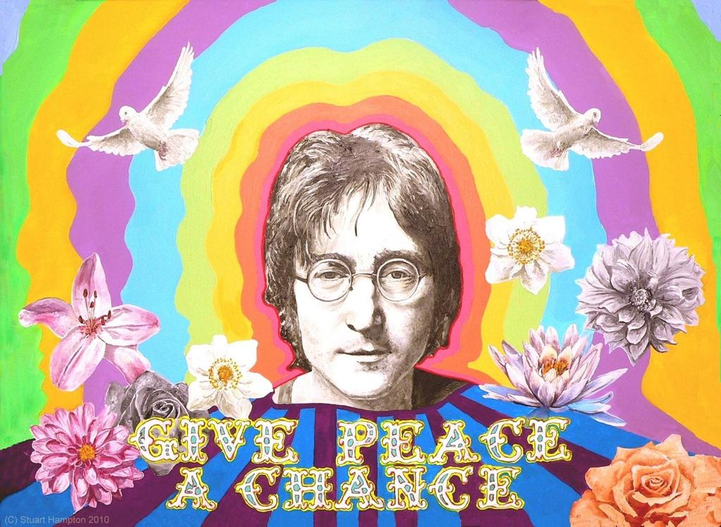 Happy 'John Lennon Day' 'Give Peace a Chance'