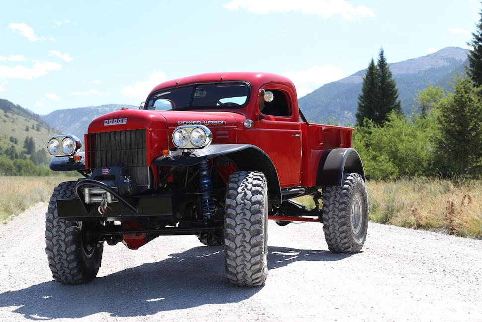 From the field: the Dodge Power Wagon. #GPxWY http://t.co/5tv1qc8m5I