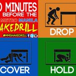 30 minutes to #MMShakeDrill. Drop, cover, and hold when you hear the signal! Download at http://t.co/QF3rwC34G4. http://t.co/rDR5tmTCJM