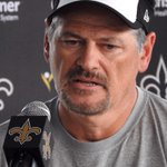 Saints GM Mickey Loomis. Follow @ShariefIshaq for what he said. Im sticking to photos for now. http://t.co/1W8FG4HtyN