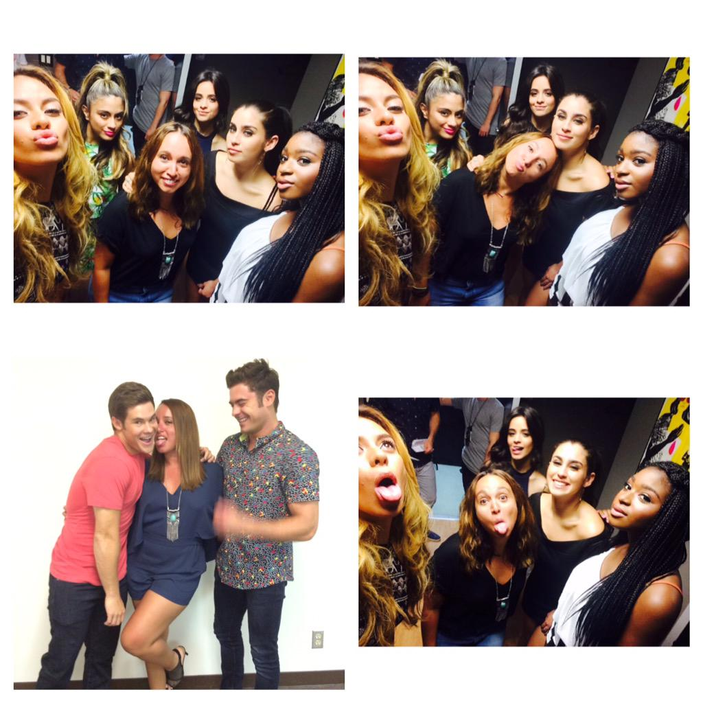 Love my girls @FifthHarmony always the sweetest and cutest!!! #5thHarmony #3YearsOfFifthHarmony #love oh & #ZacEfron http://t.co/DgR6EazyN5
