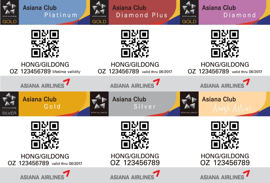 Which AsianaClub status do you have? Take advantages of your membership benefits: