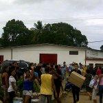 ¡Fin de Mundo! hasta a las cámaras Saludan, durante el Saqueo del PDVAL del estado Monagas hoy http://t.co/RKPlRdluW3