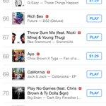 bibasincer: RT JackJackJohnson: Sexual hip hop chart position 😉 #CaliforniaMusicVideo http://t.co/9E3Y170CmK