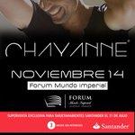 El boricua consentido de México regresa a #Acapulco, no te pierdas a Chayanne en concierto este 14 de noviembre. http://t.co/EMCNgZeDxy