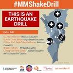 LIVE: #MMShakeDrill starts at 5 pocket drill sites around Metro Manila http://t.co/u3vpxzALk8