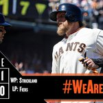 RECAP: #SFGiants open the floodgates in 7th to cruise past Brewers. http://t.co/zyUVEiXIII #WeAreGiant http://t.co/PCpWiiPag6