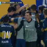 SUPER ABRAZO DE GOL Para el jugador del PUEBLO ¡¡ GRACIAS por volver Carlitos!! http://t.co/xCd7HwKAD9