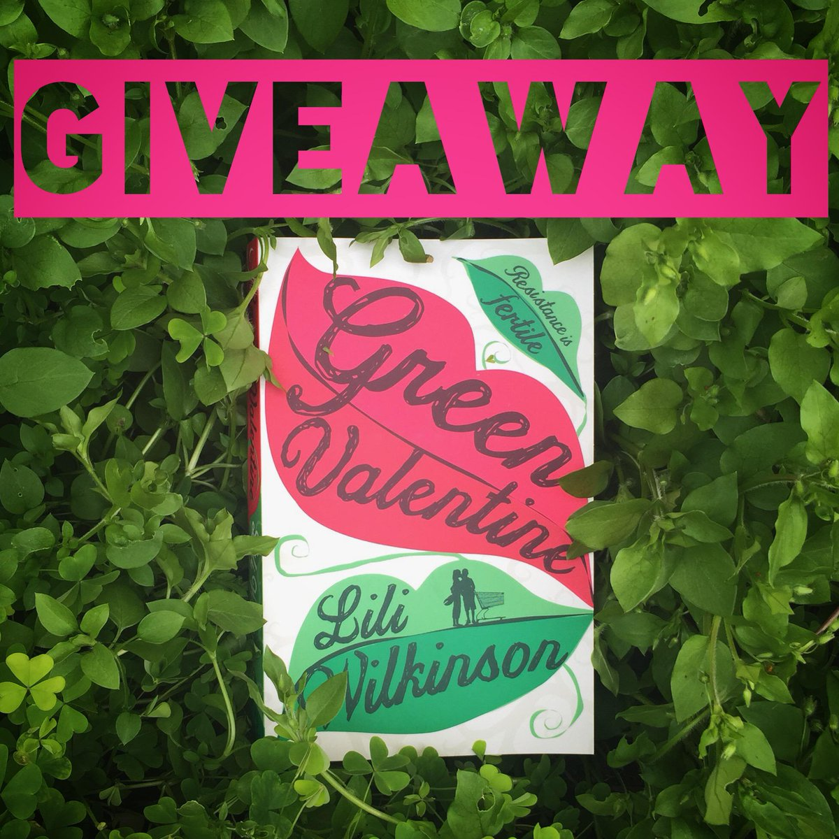 Retweet and follow me to win a signed copy of #GreenValentine! http://t.co/ljJh00Gyyx