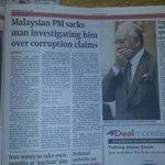 Dari Paper Luar Negara ni @NajibRazak kalau Paper Utusan Tak akan ada.. http://t.co/HSN6lZlHVF