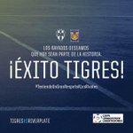Lo que no imaginábamos. Rayados apoya a Tigres en la final de la #LibertadoresxFOX http://t.co/6a6m984KZs