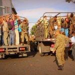 #FAES continúa brindando transporte a la población a diferentes puntos de San Salvador y cabeceras departamentales. http://t.co/lBUV0QnkAT