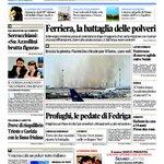 Buongiorno a tutti La #primapagina de @il_piccolo #Trieste #Gorizia #Monfalcone #Fvg http://t.co/xdEtn399LO http://t.co/xrfyEhEVbg