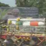 LIVE NOW: Salute and Respect #KalamSir. Funeral cortege of the Peoples President on https://t.co/HywGTzhRXV http://t.co/ceSuwxUfaM
