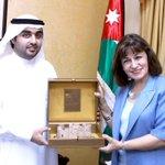 الشيخ راشد الشرقي يبحث آفاق التعاون مع وزيرة الثقافة الأردنية #الإمارات #الأردن  http://t.co/cNahRBxeqw http://t.co/Jc1NFCUviQ