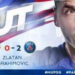 33 De @Ibra_official #united 0-2 #psg #MUPSG http://t.co/4zWEEseklb   #parislovesus http://t.co/1XszGNonQY