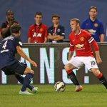 HT : Manchester United 0-2 PSG (Blaise Matuidi, Zlatan Ibrahimovich). #ICCUSA http://t.co/3NyCbaKpgi