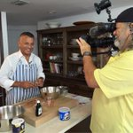 Look who found his kitchen!!! @cstevenson7 with a special #bitewithbelkys @wsvn next #nightteam http://t.co/XcppxpvukD