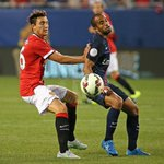 PIC: Summer signing Matteo Darmian in action at Soldier Field against PSG. #MUtour http://t.co/oh0zJh3CYM