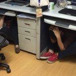 DepEd employees join the #MMShakeDrill! http://t.co/u72Cnucz7u