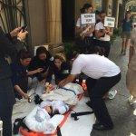 Private businesses in Malate, Manila participate in earthquake drill #MMShakeDrill http://t.co/dmn9OPkBEm