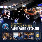 Congrats! RT @IntChampionsCup: Congrats to @PSG_inside for winning the 2015 @IntChampionsCup North America #ICC2015 http://t.co/olqh1quBha