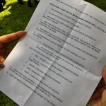 LOOK: Copy of instructions for UST Shake Drill. #MMShakeDrill http://t.co/ru6iC8QPbO