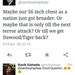 Oh @sardesairajdeep deleting tweet wont serve the purpose. I have screenshot. http://t.co/NN7CNnJWCD