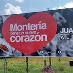 Los cambios siempre son para mejorar ¡MONTERÍA TIENE UN NUEVO CORAZÓN! @JuanJose_GJ http://t.co/aSnYmyLMrr