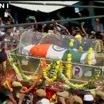 Last rites of Former President Dr A P J Abdul Kalam at Rameswaram, Tamil Nadu. http://t.co/tuMgaf1Oxl #KalamKoINCKaSalam