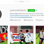 #ElClub   ¡Buenos días!☀ ¡Síguenos en #Instagram: zamorafutbolc! Disfruta de las mejores fotografías. http://t.co/sf5DBKF9NY