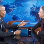 RT @frankpallotta: Jon Stewart on White House meetings: