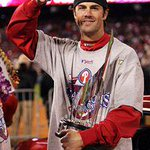 Gonna Miss ya Cole...Stay Classy in Texas. #tbt 2008 MVP @FOX29philly http://t.co/4RnY6RHHtx