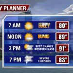 Happy #PreFriday! Watch out for strong-severe PM storms #fox25 http://t.co/ejo5d8SSAk