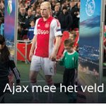 Loop tijdens #ajarap met #Ajax het veld op. We hebben nog plek voor 2 jonge fans! Check FB: http://t.co/KdszfdzNsG