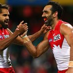 Hes got rocks in his head, @Chris_Johnson2 slams Aker for #Goodes attack #marngrook http://t.co/QafzEFkEv1 http://t.co/df8piwPeXs