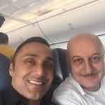 Flight to Kolkata became more interesting & educative. Thanks to my friend @RahulBose1.:) #Cinema #Theatre #Fitness