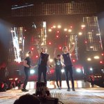 Luke, Michael, Calum and Ashton on stage in Winnipeg #ROWYSOWinnipeg -A #MTVHottest 5sos http://t.co/aK7CoNs4m5