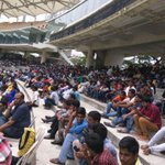 RT @BCCI: Ind A v Aus A:The fans have turned out in numbers at Chepauk.Entry for the game is free, dont miss out on the action.