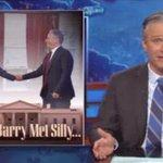"Jon Stewart reveals ""what happened"" during ""secret"" @WhiteHouse meeting with Obama http://t.co/TO2aYklUYO http://t.co/P4VBlHXkk2"