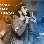 Hui és l'aniversari d'un jugador valencianista... Felicitats @aftgomes ! #André22 http://t.co/xyieJSjEbc