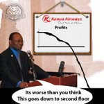 KQ CEO announcing the profits like #KQRebound http://t.co/hr2O4JG2Pd
