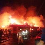 Chiguayante imagen vía @Phaaus del incendio de proporciones en sitio de Traperos de Emaus trabaja Bomberos http://t.co/JfJ3sOUjan